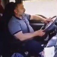 眠い状態で運転してはいけないってはっきり分かる動画あ