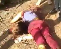 【閲覧注意】拘束した女性への処刑がエグすぎてグロい…