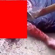ギャングに殺され頭をかち割られた男性の死体がグロすぎるんだが…