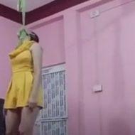生配信で首吊り自殺を流す女性…一つ一つの動作に死ぬぞっていう強い意志を感じる