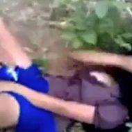 【無修正】ジャングルの中を女性一人では歩いてはいけない…