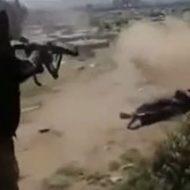 ISISによるオーソドックスな射殺映像