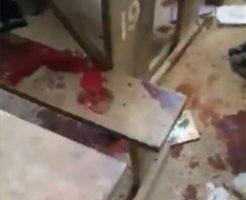 テロリストに襲撃された教室の惨状が壮絶すぎる…