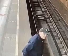 おじいさんが電車で絶対に死ぬように自殺を図る…