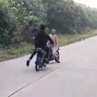 バイク同士の正面衝突がエグすぎる件について…
