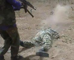戦争のリアルな映像と死んでいく兵士たち…