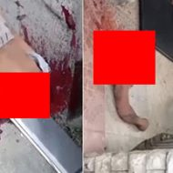 左肩から斜めに身体が裂けた男性の死体がヤバすぎる…