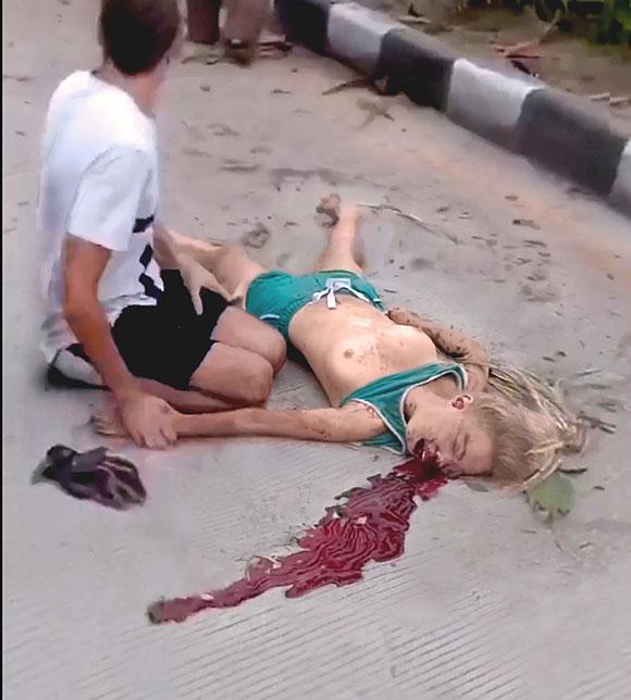 海外で有名なInstagramerの美少女がバイクで事故死