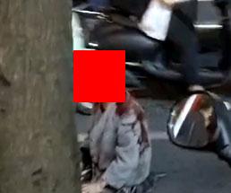 真っ赤なヘルメットを被っているようにしか見えない彼女は…