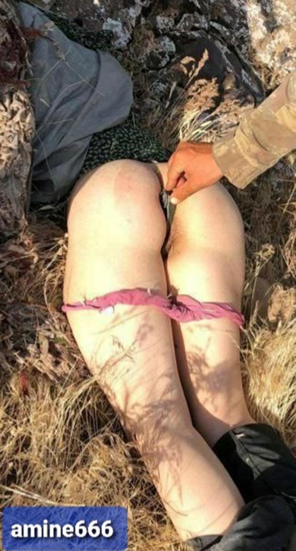 兵士が女性の死体に性的陵辱を行う衝撃的画像