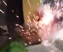 手榴弾をぶん投げようとして自爆する奴ヤバすぎやろ…