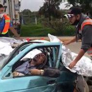 超スピードで暴走したトラック事故の惨状がヤバい…