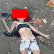 頭が潰された女性の死体が転がってるとか怖すぎだろ…