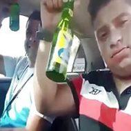 運転中に酒を飲んでイキっていた彼らの末路がこちら