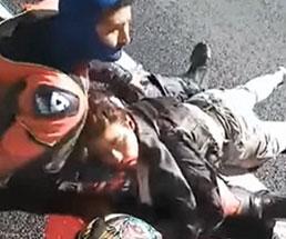高速道路の玉突き事故がどれほど酷いことになるか…