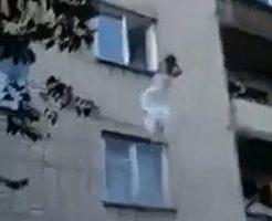 酔っぱらった花嫁が3階から飛び降りしてさよなら…