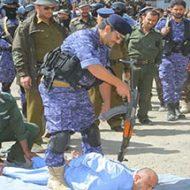 イエメンで兵隊による公開処刑が完全に作業になっている件