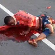 家族全員がトラックに轢き殺されてしまった現場が凄惨すぎる…