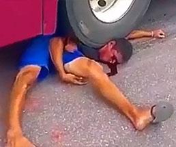 事故や処刑などのグロ映像オムニバス