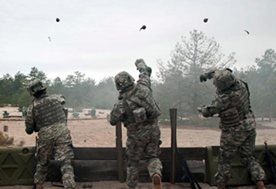 【グロ動画】コレ見たら手榴弾の威力が良く分かる・・・※超閲覧注意