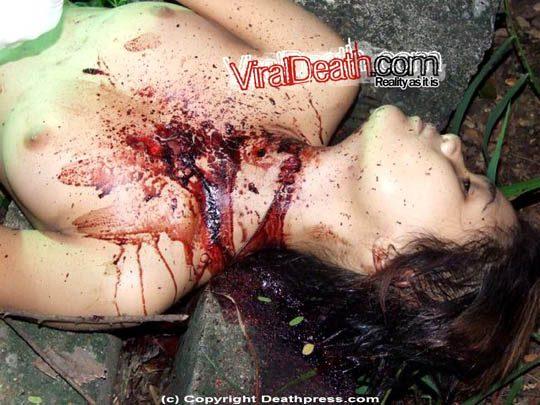美女のレイプ死体グロ画像