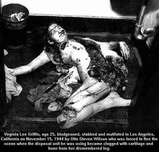 女性死体グロ画像