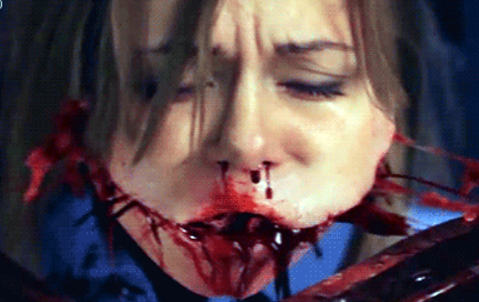 【閲覧注意】ホラー映画のグロシーンのGIF画像集。※心臓の弱い方はご注意ください。(25枚)