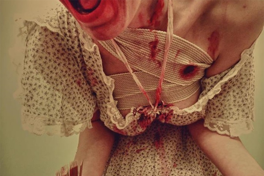 【閲覧注意】20歳の女の子の妊娠中絶画像・・・ ※グロ過ぎ注意