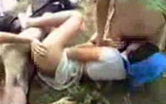 【本物レイプ】ロシア人の女性を拉致野外レイプしてみた結果・・・※閲覧注意!
